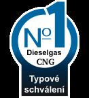 Typové schválení Diesel CNG pro přestavby na všechny typy vozidel